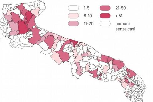 Bollettino coronavirus, i casi a Gravina e in Puglia