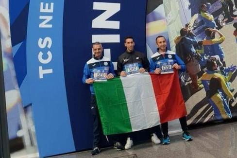 Lapolla, Valluzzi e Cornacchia alla maratona di New York
