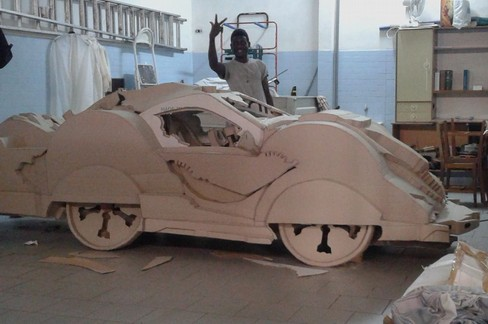 Fofana Biman- modello auto