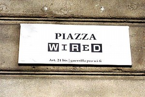 front piazza wired
