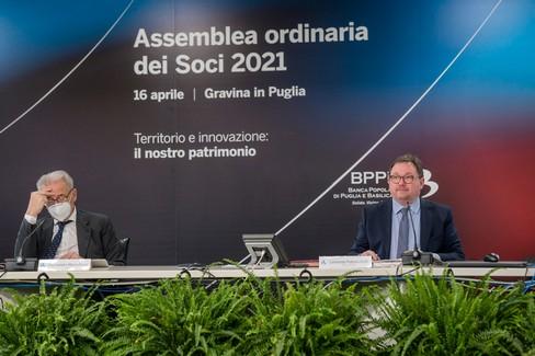 Banca popolare di Puglia e Basilicata, approvato bilancio di esercizio 2020