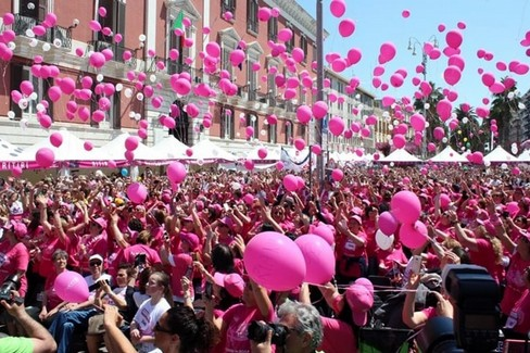 "A Bari torna  ""Race for the cure """