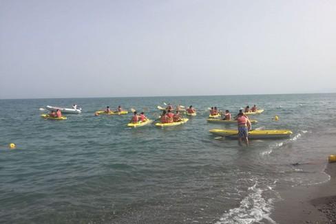 studenti della Bachelet-Galilei al mare