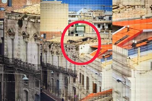 Italia Viva: tetto pericolante, a rischio incolumità passanti