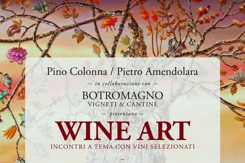 """""""WineArt in Piazza"""", Arte e vini nella galleria Colonna"""
