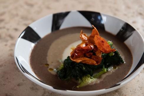 "Ricetta Salata ""Zuppa di legumi e cime di rapa"""