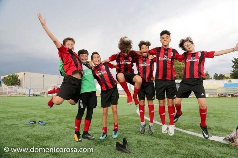 Milan Academy Junior Camp. <span>Foto Domenico Rosa</span>