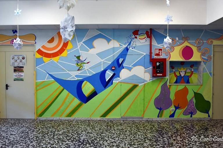 Murales Lia Barbara- scuola Nardone