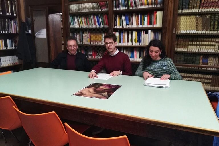 nella foto: Mario Burdi, Giuseppe Di Gennaro e Caterina Guerrieri