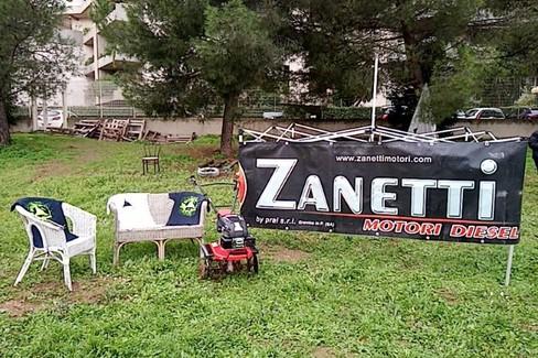 Zanetti dona motozappa