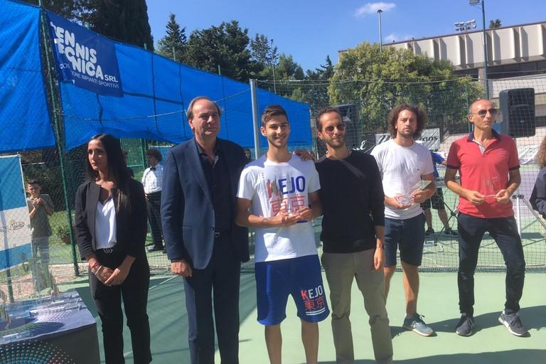 premiazione del torneo di tennis San Michele Arcangelo 2019