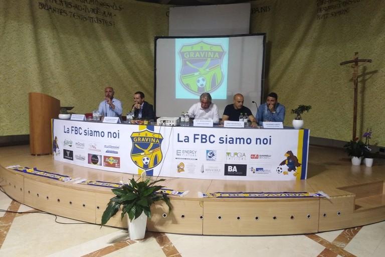 presentazione annata 2019-2020 FBC Gravina