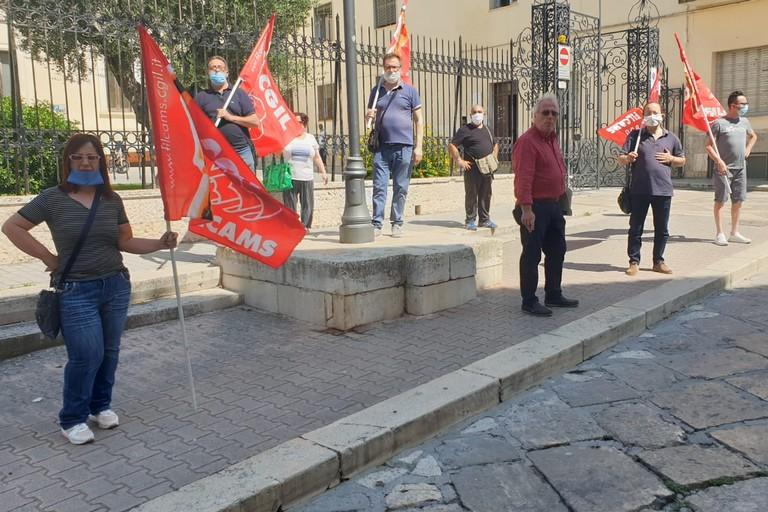 protesta cgil e lavoratori