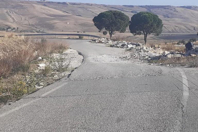 strada provinciale per Irsina
