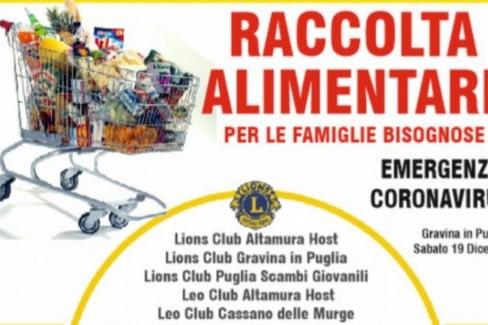 Lions club e divella group - raccolta alimentare