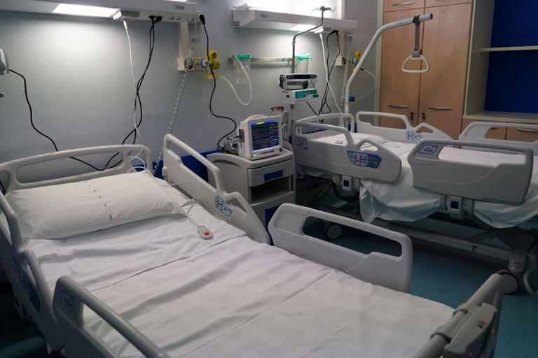 reparto Covid - Ospedale della Murgia