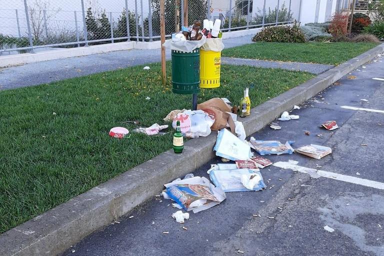 rifiuti zona pip