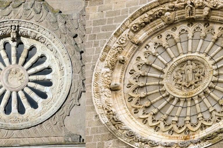 Rosoni della Madonna delle Grazie e della Cattedrale