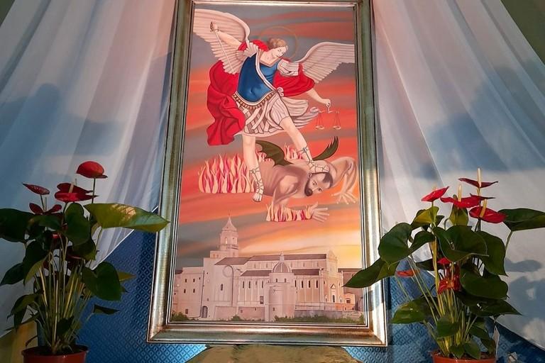 San Michele- dipinto di Torino Fineo