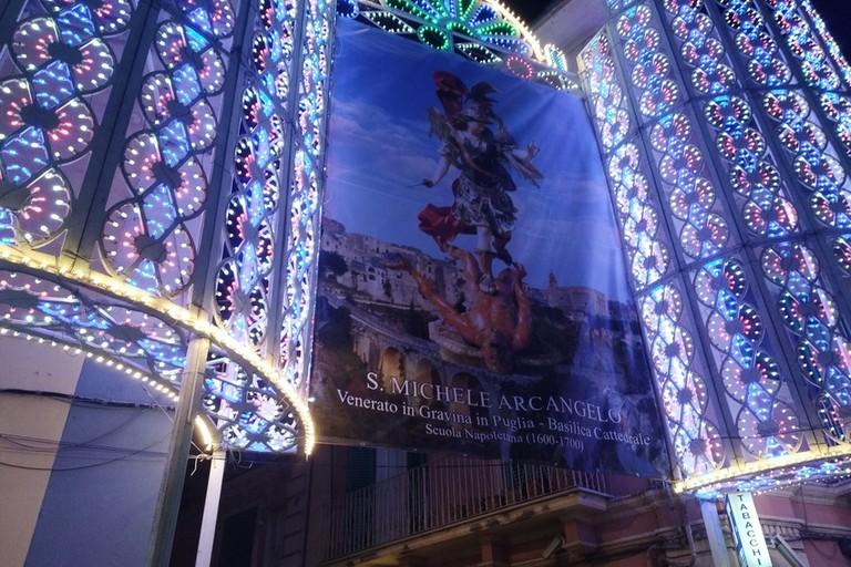San Michele- luminarie