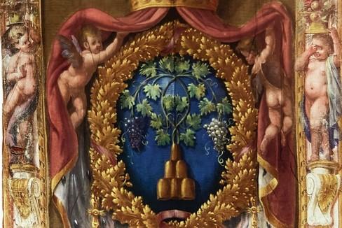 stemma di famiglia Ruspoli- passeggiando con la storia