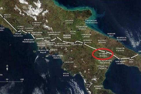 cammino via Appia