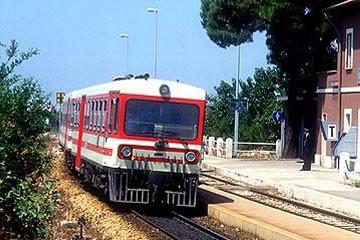 Treno Delle Ferrovie Appulo Lu06